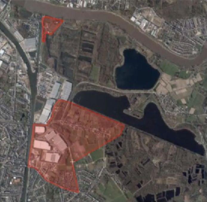 WILLEBROEK De zones waarin de voorzorgsmaatregelen tegen PFOS-vervuiling gelden, worden in rood aangegeven op de kaart.