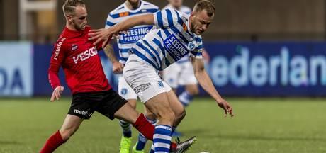 Machteloos Helmond Sport verliest ook van De Graafschap