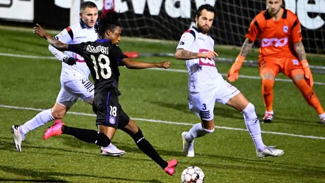 Anderlecht plaatst zich ondanks gemiste kansen voor volgende ronde na verdiende zege bij FC Luik