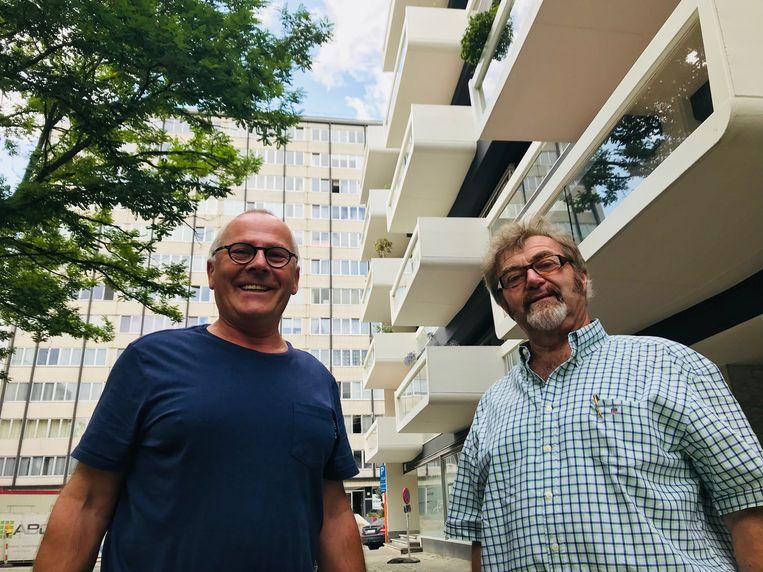 Frank Gilbos en Maurits Daelman.