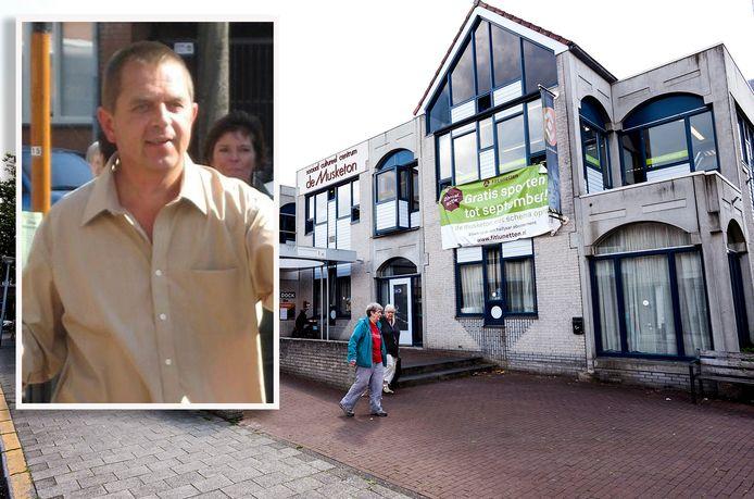 Utrechtse dansschoolhouder Peter Vlug, die les geeft in sociaal cultureel centrum De Musketon in Lunetten, wordt bedreigd.