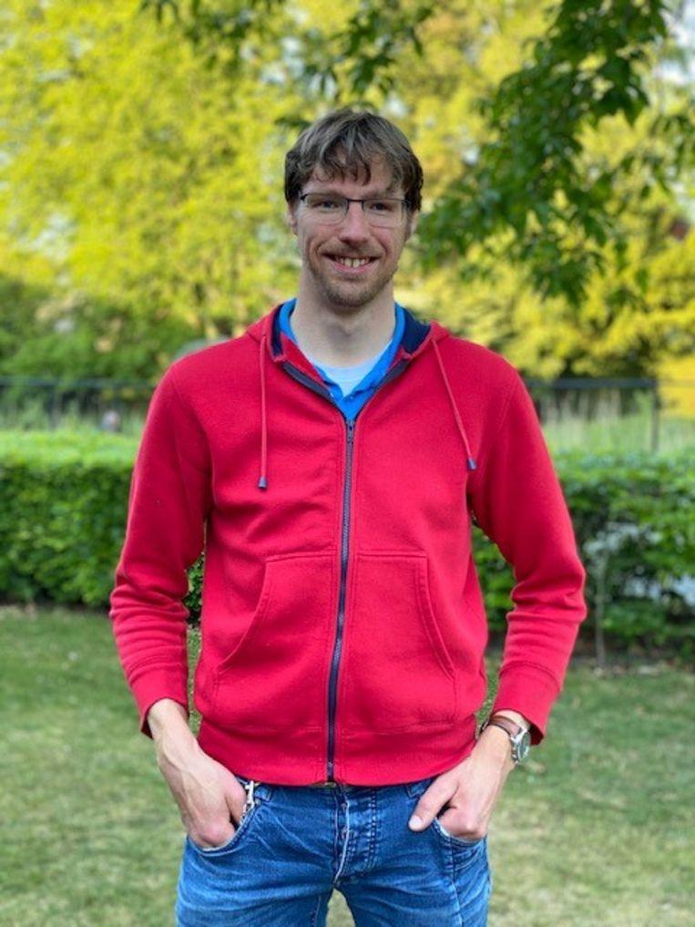 Harm de Ruiter: 'Ik heb structuur nodig.' Beeld Tilburg Mediafond