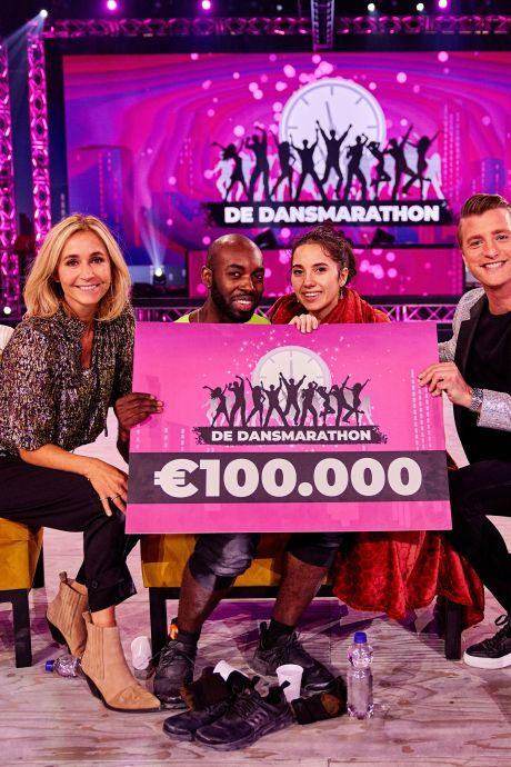 Winnaars Dansmarathon willen niet reageren op kritiek: 'Stond heel medisch team voor ons klaar'