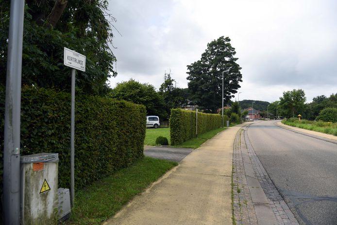 Kortrijksebaan in Holsbeek.
