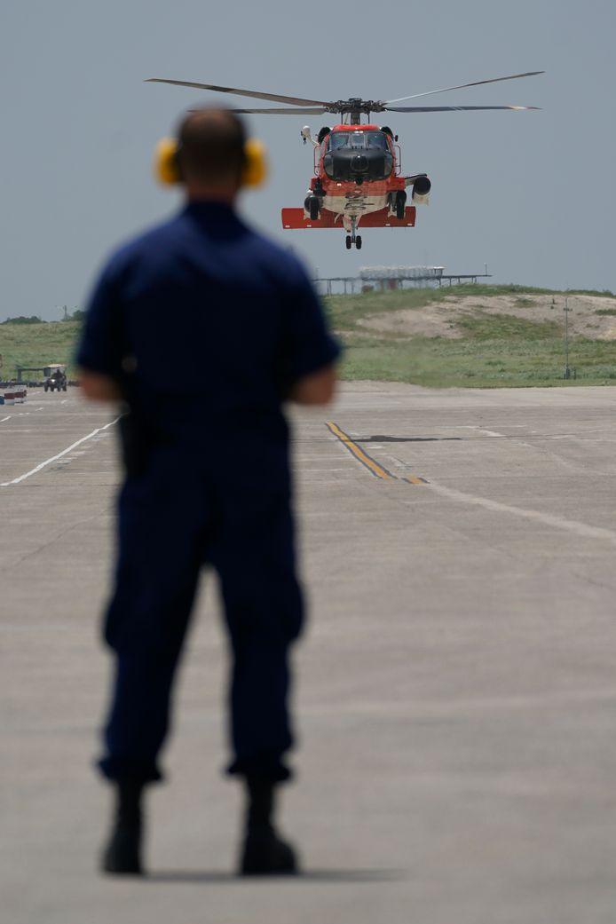 Illustration. L'hélicoptère était un MH-60.