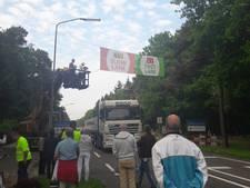 Protestmars in Valkenswaard, verkeer tijdelijk omgeleid