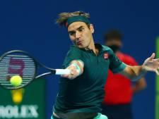 Federer meldt zich af voor Dubai na uitschakeling in Doha