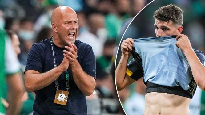 Slot verwondert zich over conclusie dat Feyenoord punten laat liggen in Israël: 'Dit is een oké-resultaat'
