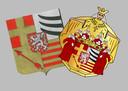 Nog een beeld van de wapenschilden van Lanaken.