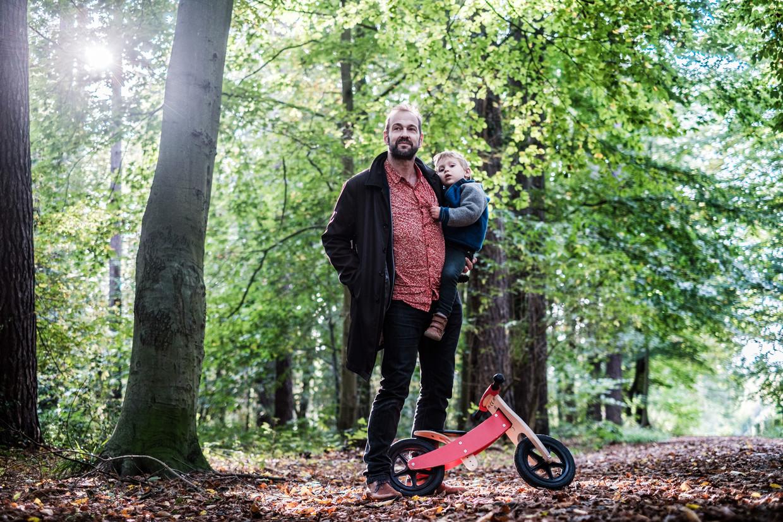 Hans van Scharen: 'Ook in België zijn zeer weinig plekken echt gevrijwaard van luchtvervuiling.' Beeld BOB VAN MOL