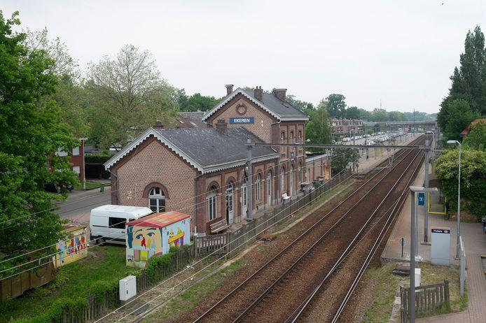 Het station van Ekeren.