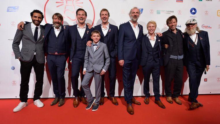 De cast van 'Cargo' op het filmfestival van Oostende.