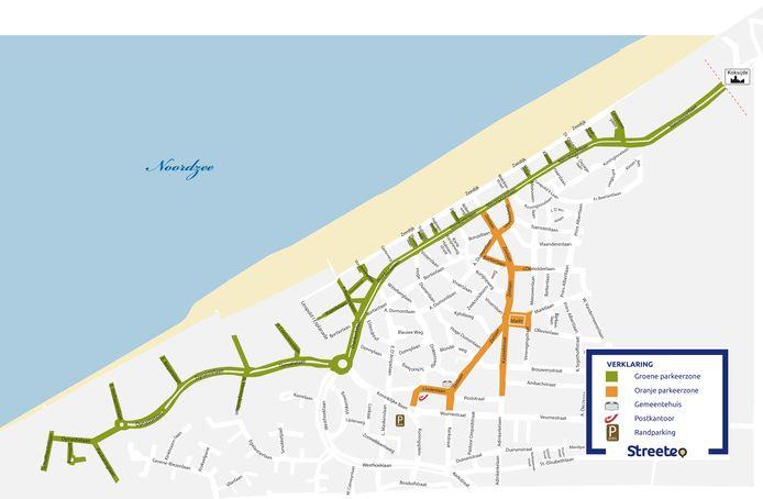 Dit is het nieuwe parkeerplan dat vanaf 1 juli dit jaar van kracht is