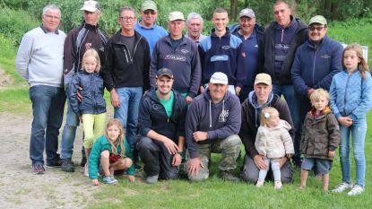 Flinke vangst voor 20 trio's bij de Steenputvissers