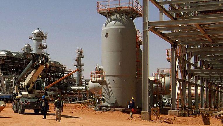 Het gasveld bij Amenas op archiefbeeld. AFP PHOTO / STATOIL / KJETIL ALSVIK Beeld afp