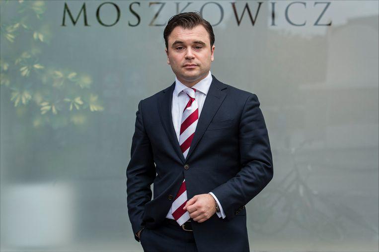 Yehudi Moszkowicz, advocaat van Marcel D., noemt het vonnis ten aanzien van de moord op Sabee 'het enige juiste dat de rechtbank kon doen'.  Beeld ANP