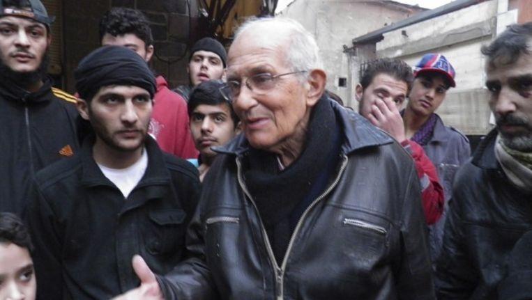 Pater Frans van der Lugt was Syriër onder de Syriërs geworden. Beeld reuters