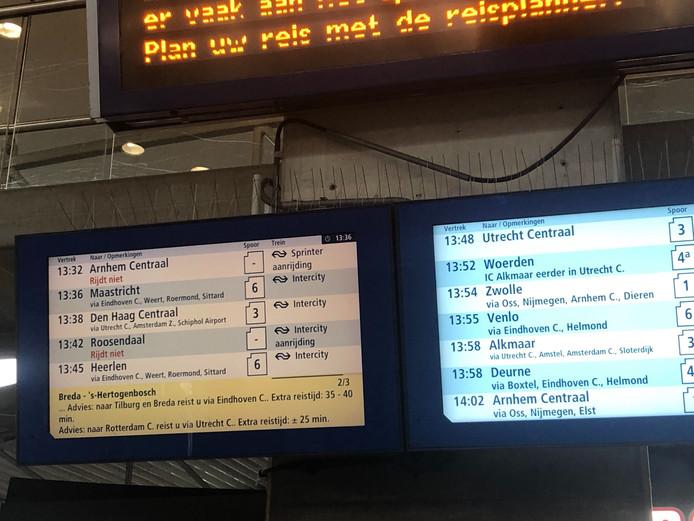 Vertraging tussen Den Bosch en Tilburg na aanrijding