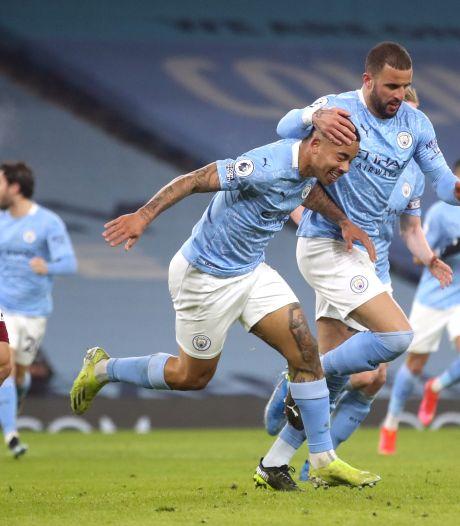 Manchester City boekt tegen Wolves 21ste zege op rij en kan gaan jagen op record Ajax