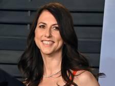 MacKenzie Scott, ex-femme de Jeff Bezos, a fait don de 6 milliards de dollars en 2020
