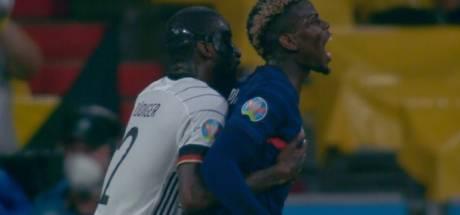 "Pogba réagit à la morsure de Rüdiger: ""Un truc amical"""