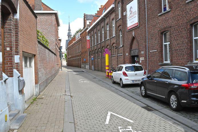 In de Grauwe Zusterstraat ligt de kleuterschool van De Graankorrel.