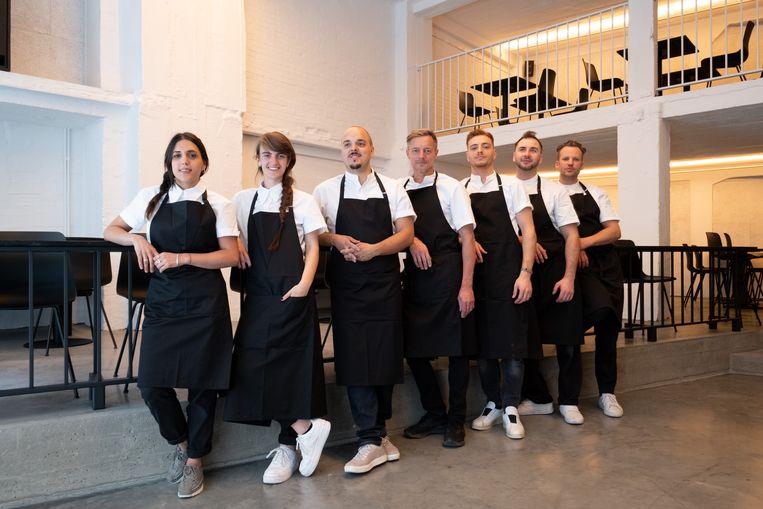 Magma is een nieuw restaurant in de Borzestraat in Mechelen.