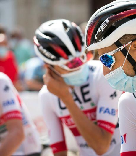 Drie renners Team Emirates uit Ronde van Burgos om corona