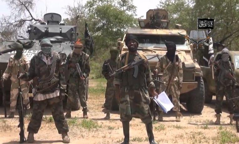 Leden van de terreurbeweging Boko Haram Beeld belga