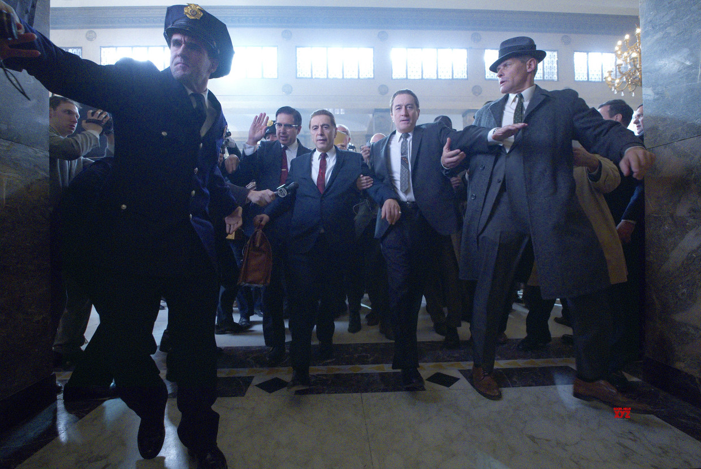 Al Pacino en Robert De Niro in 'The Irishman'.  Beeld Netflix