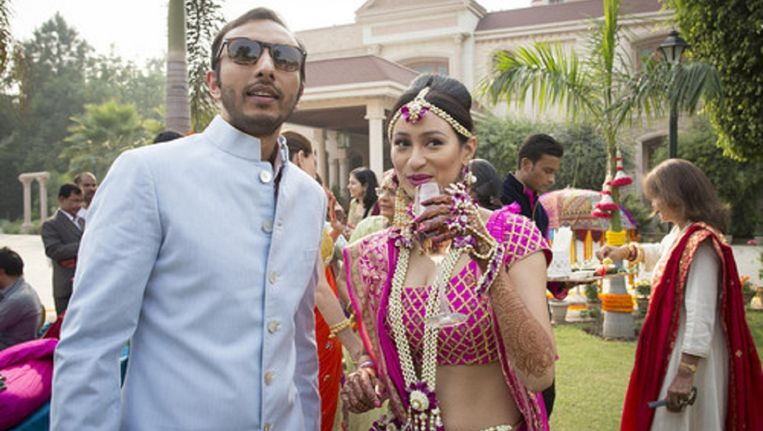 Wedding Day in India. Beeld Lieve Blancquaert