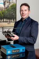 Marck Haerkens uit Vught is één van de initiatiefnemers van de nieuwe Stichting Zorgvleugels.