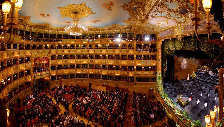 Teatro La Fenice in Venetië. Beeld