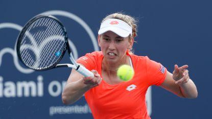 Elise Mertens geeft voorrang aan eigen gravelseizoen en zegt af voor Fed Cup-duel - Exit Van Uytvanck in Lugano