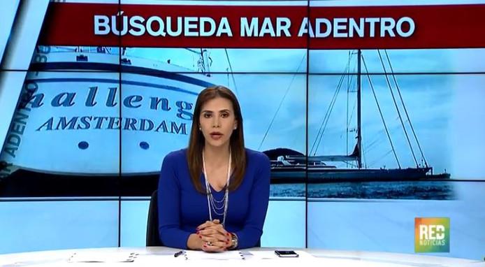 Colombia startte een grootscheepse zoekactie naar de Challenge nadat de familie van de kapitein alarm had geslagen.