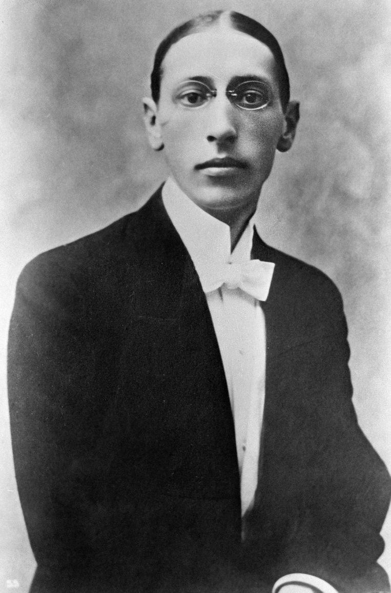 De Russische componist Igor Stravinsky. Beeld RIA Novosti