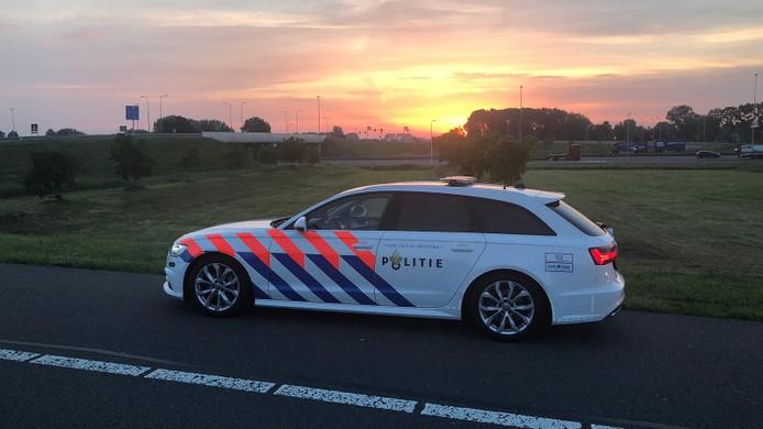 De politie hield de Zoetermeerder aan op de A28 bij Amersfoort