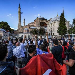 Turkse kathedraal Hagia Sophia mag weer moskee worden, tot woede van christelijke wereld