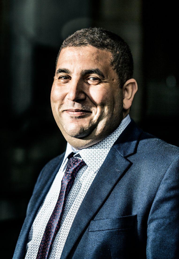 Mohammed Benyaich begint met een nieuwe spoorwegvakbond in Wallonië. Beeld Franky Verdickt