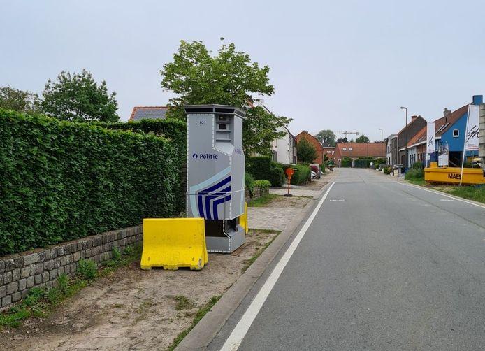 De Lidar staat in de Durmstraat in Lievegem