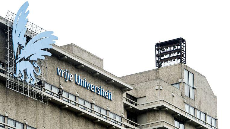 Het gebouw van de VU in Amsterdam. Beeld anp