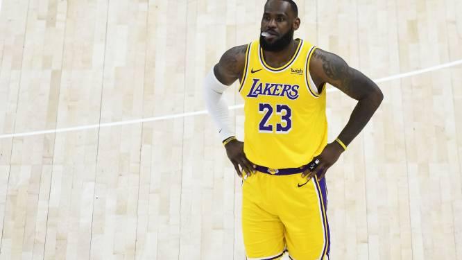 LA Lakers verliezen vierde keer op rij: Le Bron James krijgt pak slaag van leider Utah
