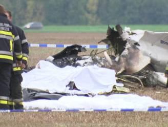 Vliegtuig vloog na crash in brand