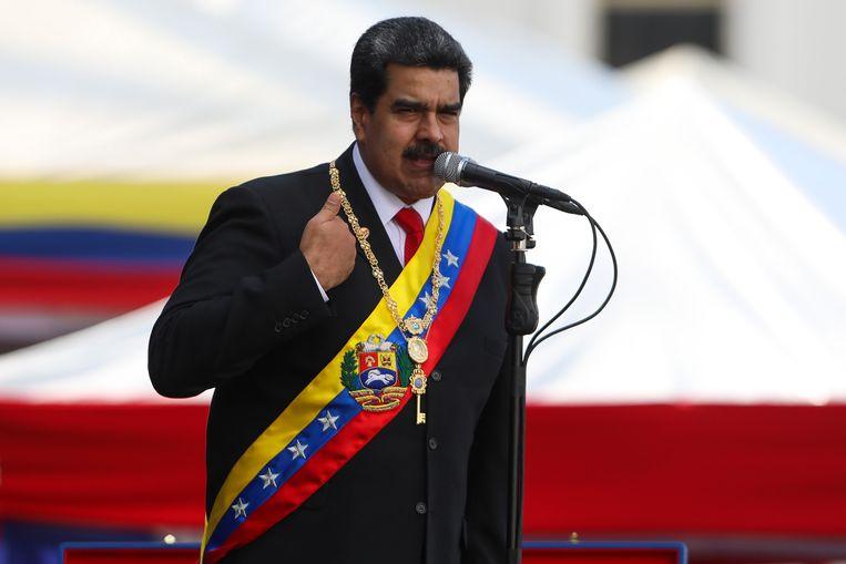 Venezolaans president Nicolás Maduro. Beeld EPA