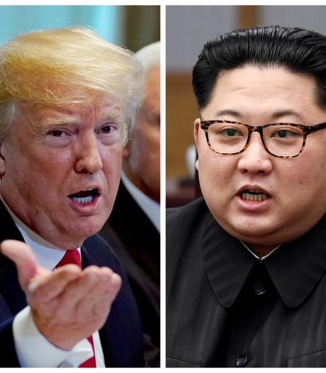 Trump zegt ontmoeting met Kim Jong-un af