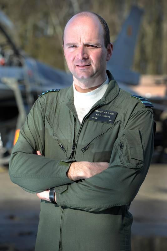 Generaal-majoor Vansina.