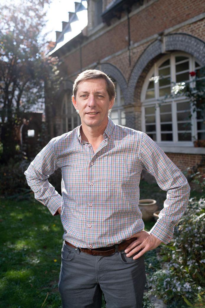 Charles Leclef werd zondag nog verkozen op de stadslijst Vld-Groen-M+.
