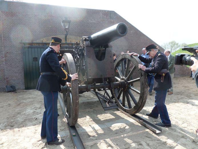 Een voor Nederland uniek kanon is in het vervolg in Giessen te zien.