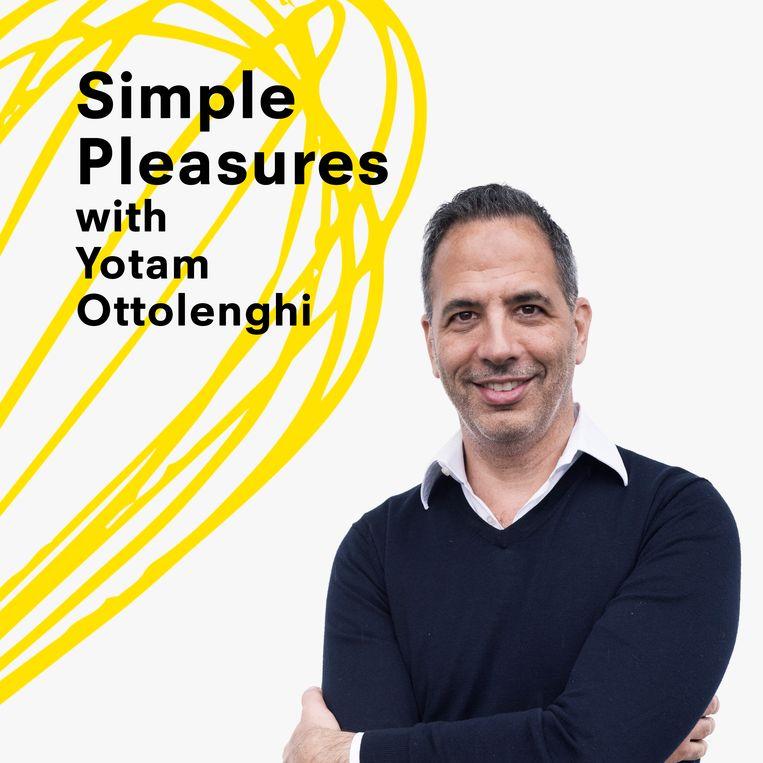 Yotam Ottolenghi blijkt naast een goede kok ook een prima interviewer te zijn. Beeld rv