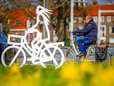 Oplichtende nepfietsers waarschuwen automobilisten in Dordrecht